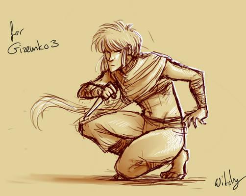 Sketch for Gizemko3
