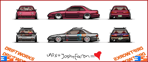 Silvia + RX7 - FC3S13 Scaled by Diluted-Illusion