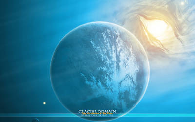 Glacial Domain - Widescreen by Novacron