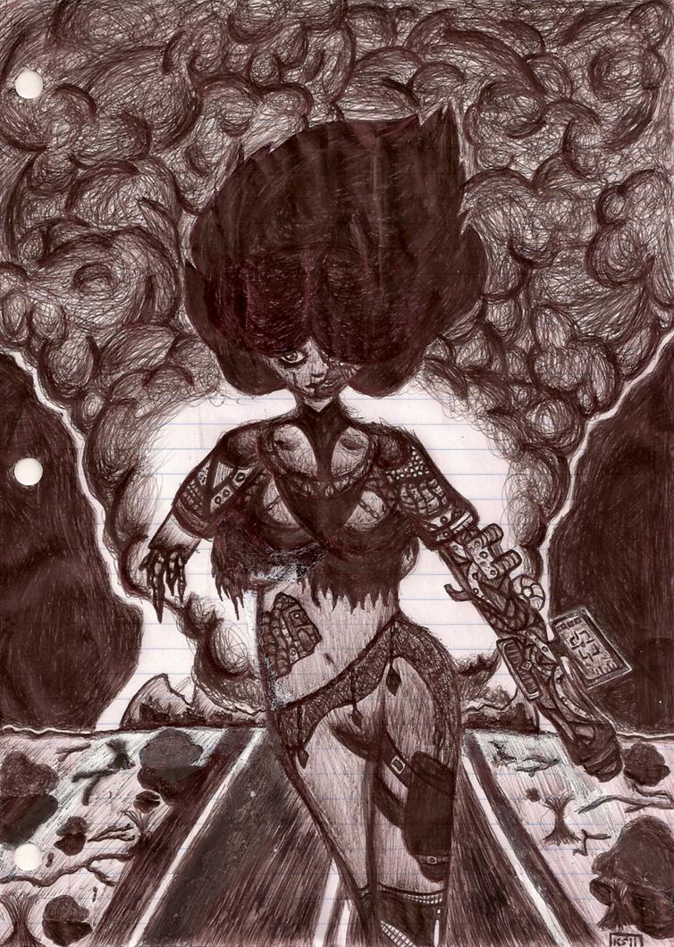 Amaterasu's Wrath by Lilium-Nightshade