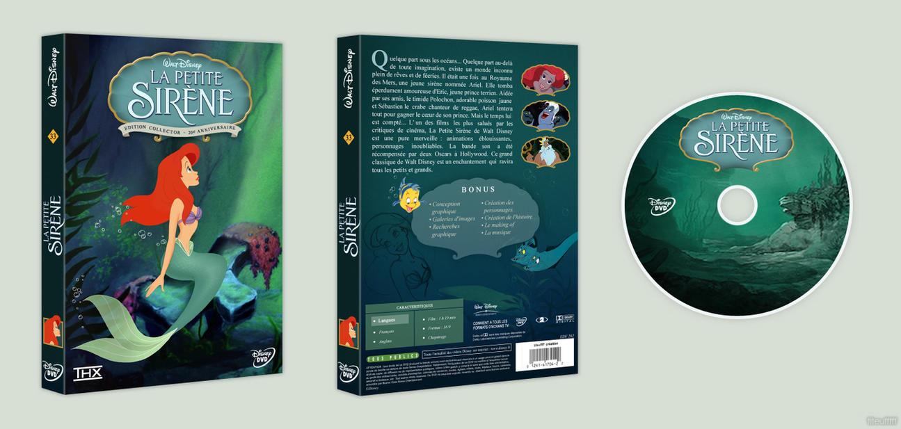 La petite Sirene - DVD Disney by titeufffff