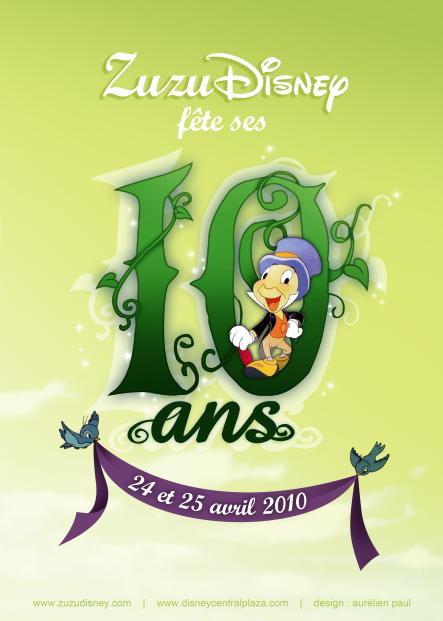 Zuzu Disney 10 ans by titeufffff