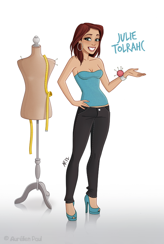 Julie Tolrahc by titeufffff