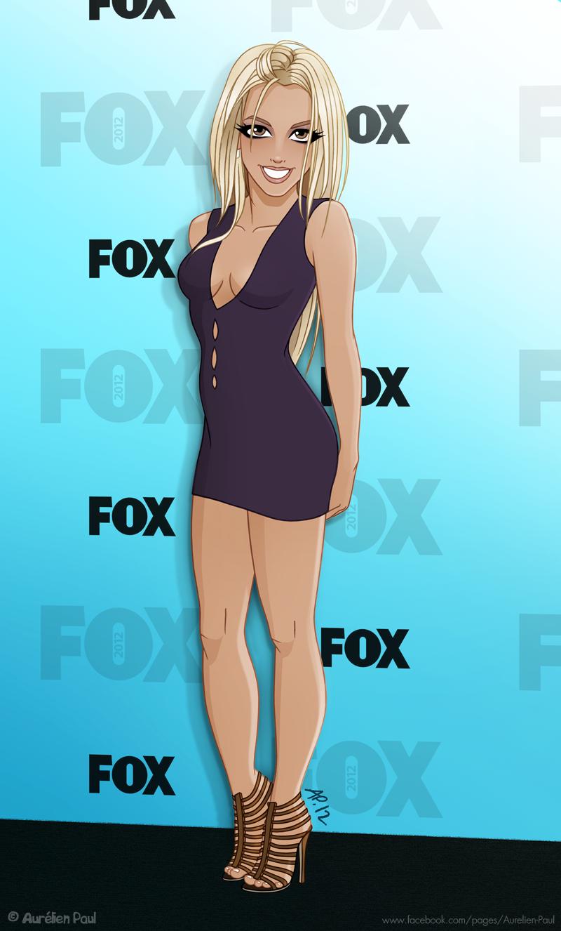 Britney Spears @ X Factor 2012 by titeufffff