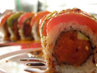 Sushi Roll by Tiffanie-Faith