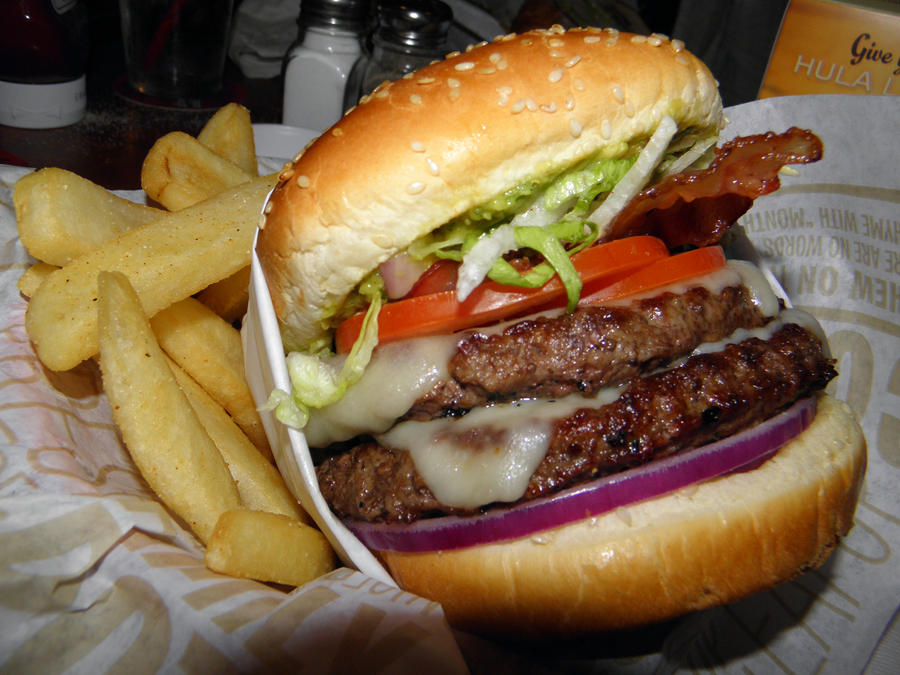 Big Burger by Tiffanie-Faith on DeviantArt