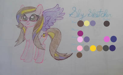 Sky Sketcher Reference by PerfectlyImperf