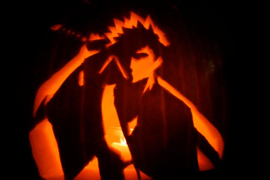 Bleach pumpkin by gigahead on deviantart