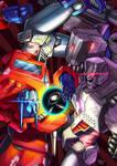 CT issue #17 cover: Prime VS Megatron