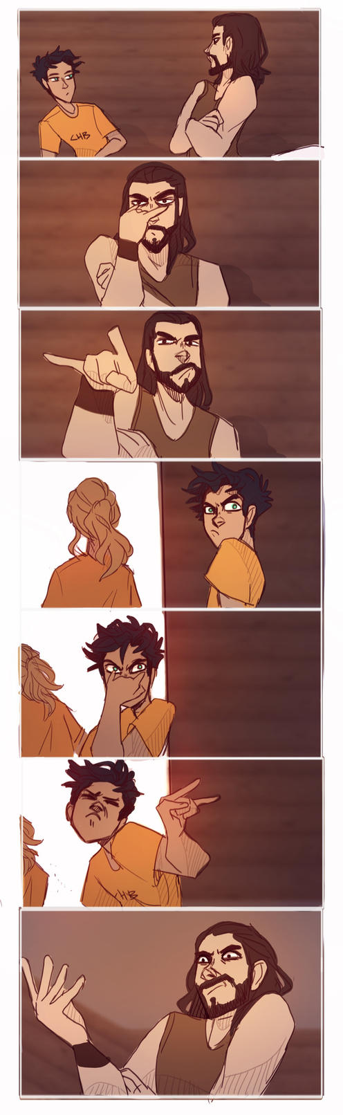 This happened at some point by Tamaytka