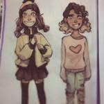 Scarlett and Alisha