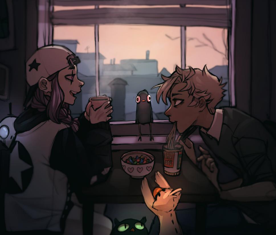 Tea Time by Tamaytka