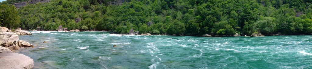 Niagara River Panorama