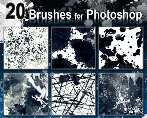 Brushes For Photoshop by DonnaCuzzard