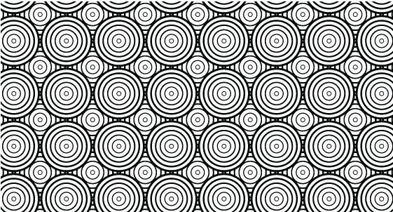 Mono circles patterns by DonnaCuzzard