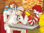 Fast food battle