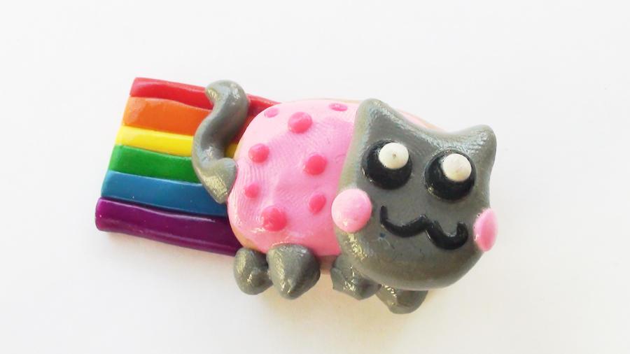 Nyan Cat Magnet by naga-kkw87