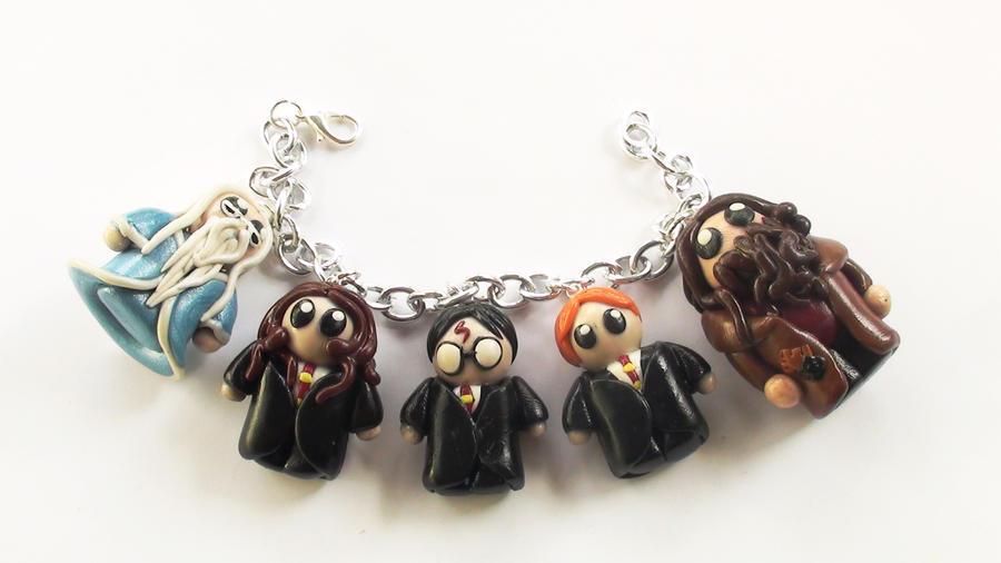 Harry Potter Custom Bracelet by naga-kkw87