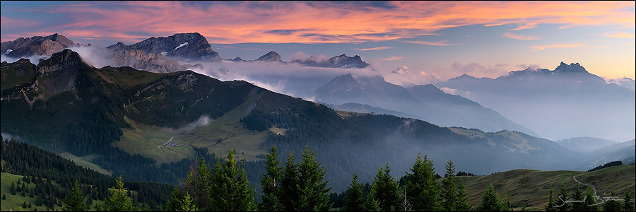Swiss Vaudoise pre-Alps by samuelbitton