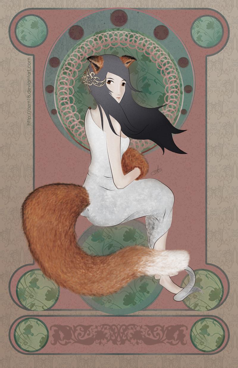 Kitsune by azm18