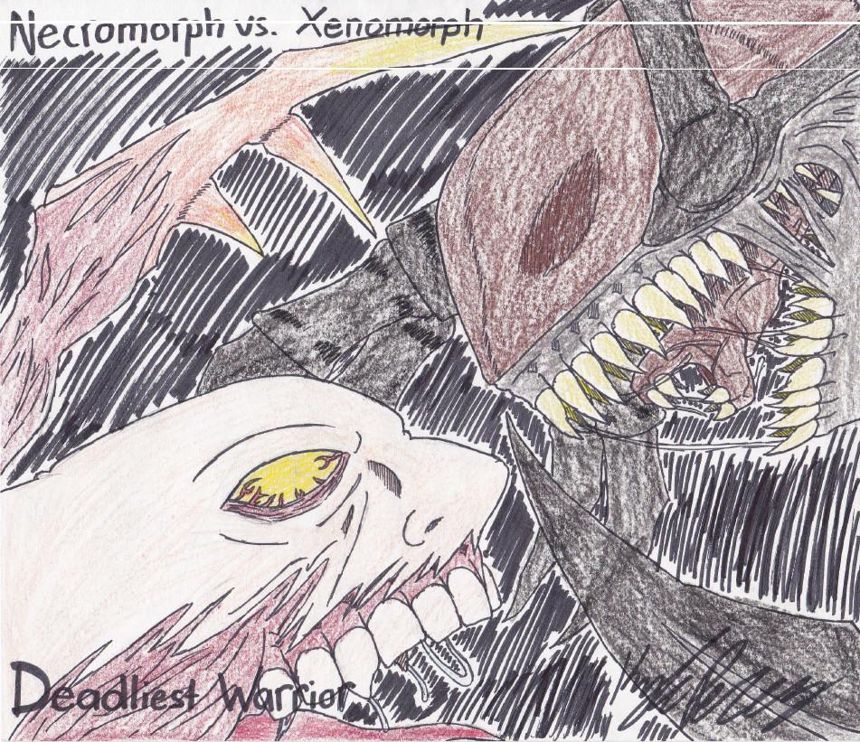xenomorph vs necromorph - photo #9