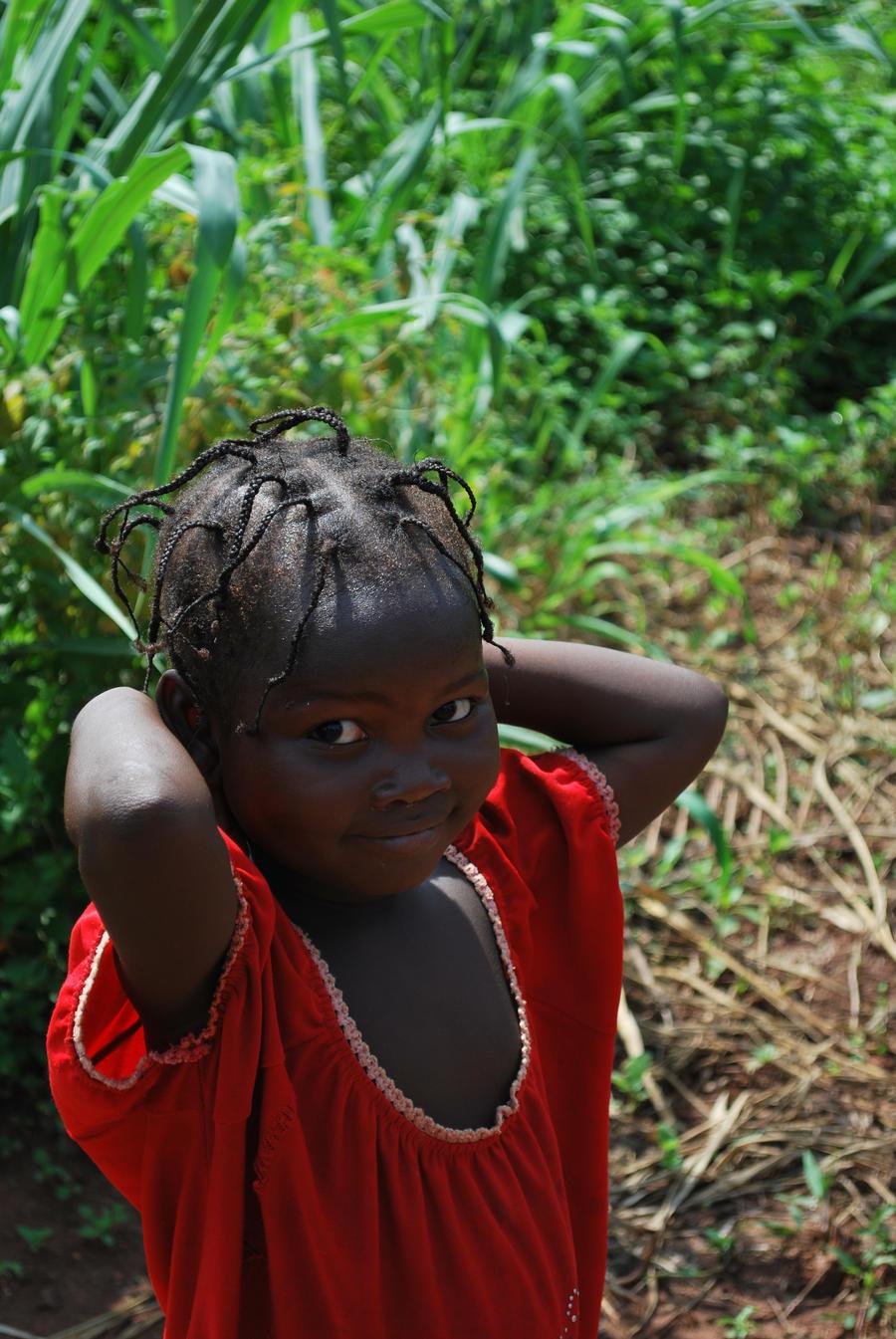 African girl by Abenn