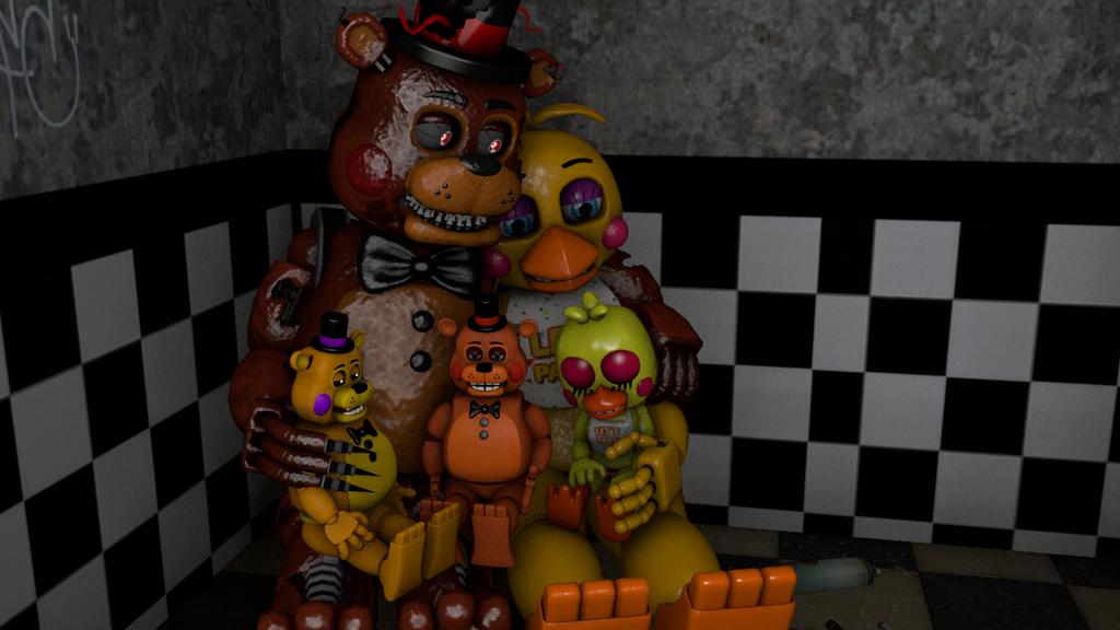 [SFM/FNAF] Toy Chica X Toy Freddy By ToySpringtrap2015 On