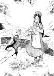 Sonne met Eliza by BakaSanji