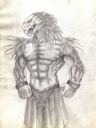 Criatura gladiadora by alvarosm