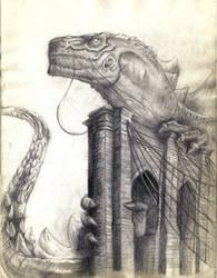 Godzilla by alvarosm