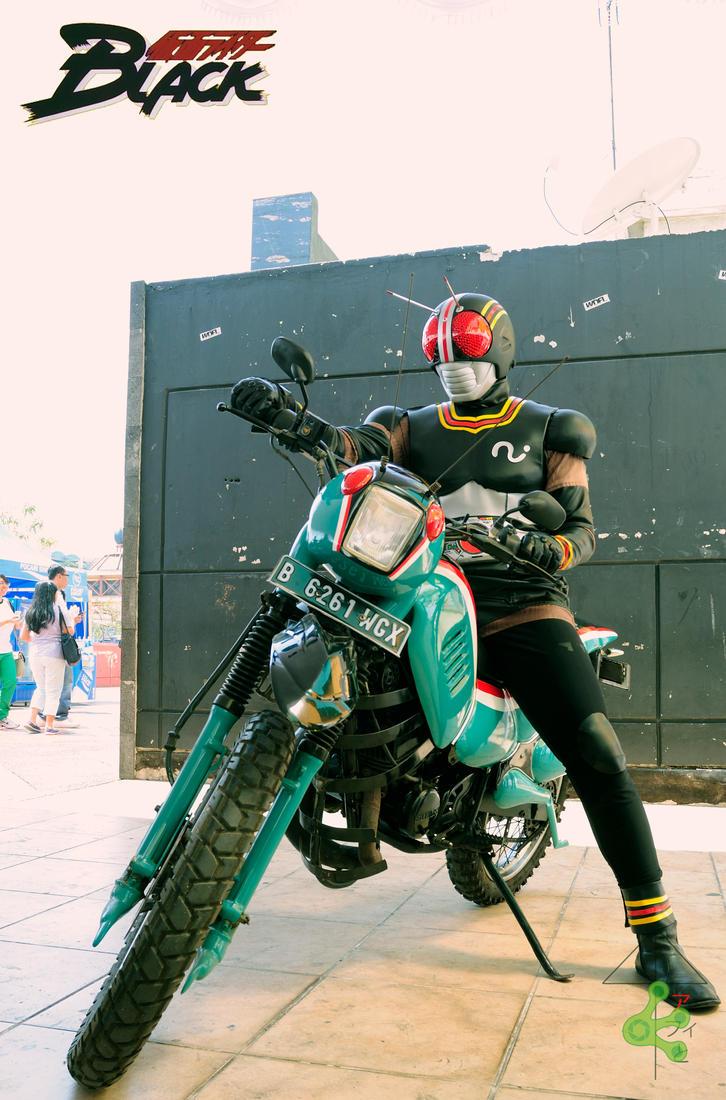 kamen rider black cosplay by kucing-kucing