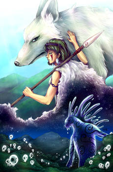 Princess Mononoke - Day and Night