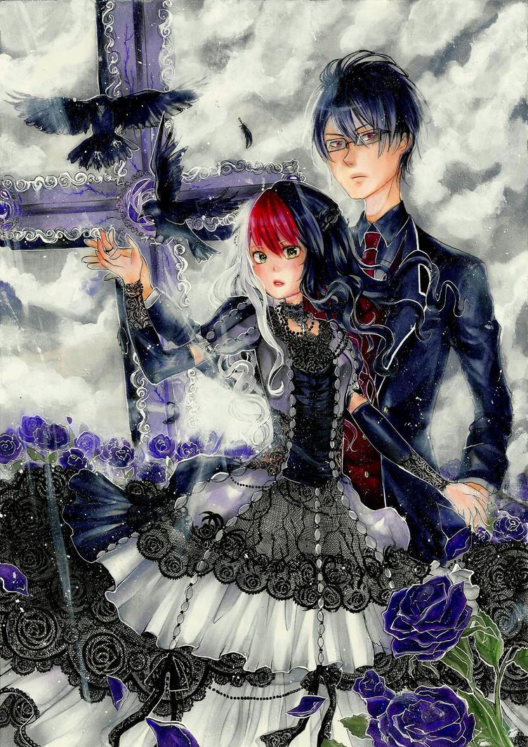 Saika and Reiji by Jagobee