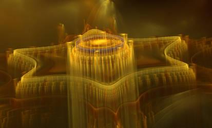 Elevated Fractal City II by GStolyarovII