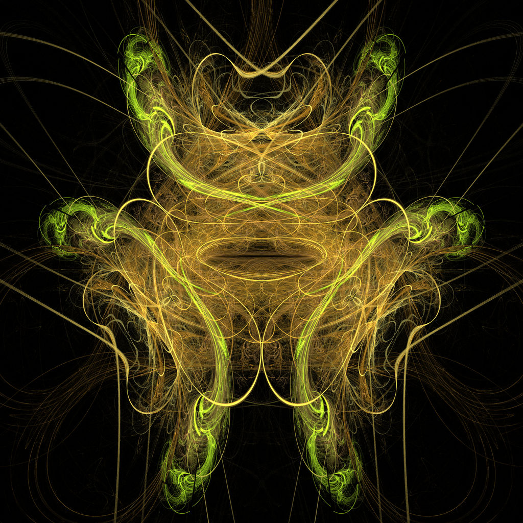 Abstract Orderism Fractal 57