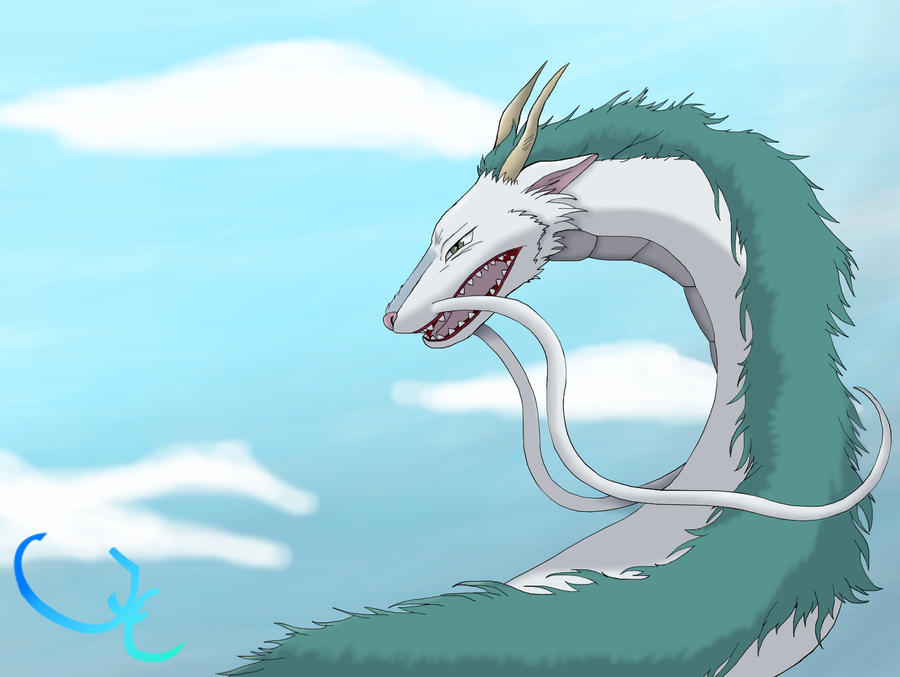 Haku From Spirited Away by JCBrokenLight on DeviantArt
