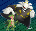 Dusknoir and Grovyle!