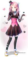 (commission) Black, black heart