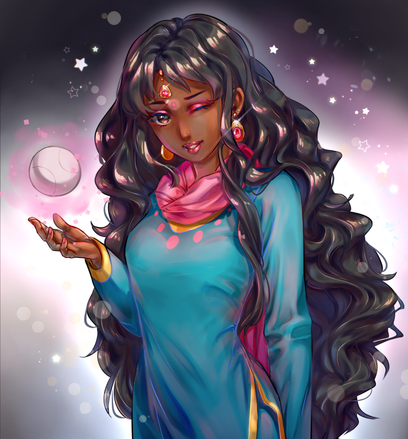 Roopa (commission) by NonexistentWorld