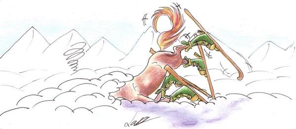 Dessin et peinture - Page 2 Vive_la_neige___Viva_Snow_by_ByChamallow