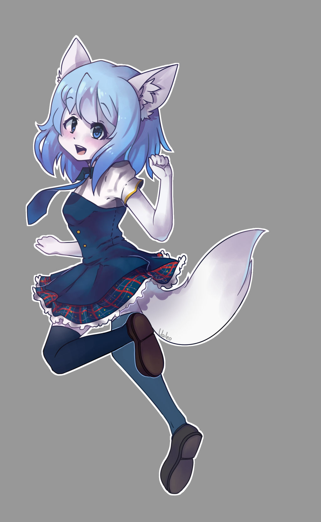 Wolfychu (FA) by xValeox