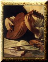 Caravaggio's Lute by Villenueve