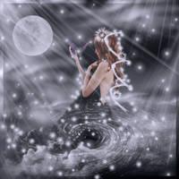 Dark Angel Flirting... by Villenueve