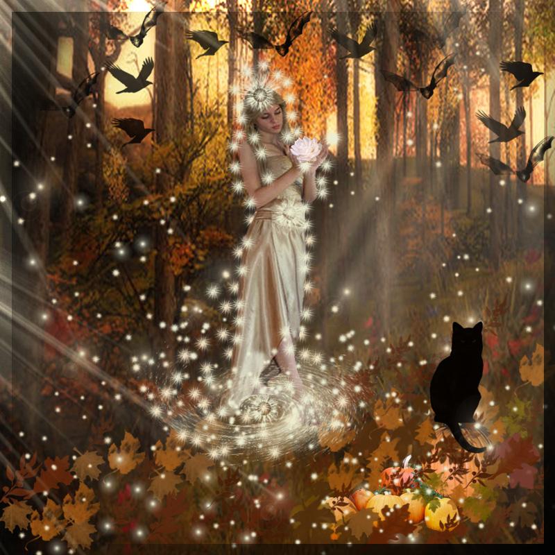 Goddess Of The Autumn...