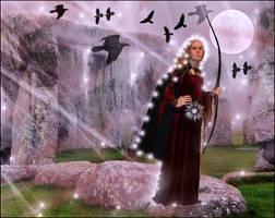 Celtic Goddess... by Villenueve