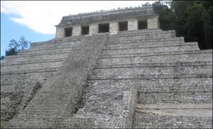 Mayan Pyramid -3