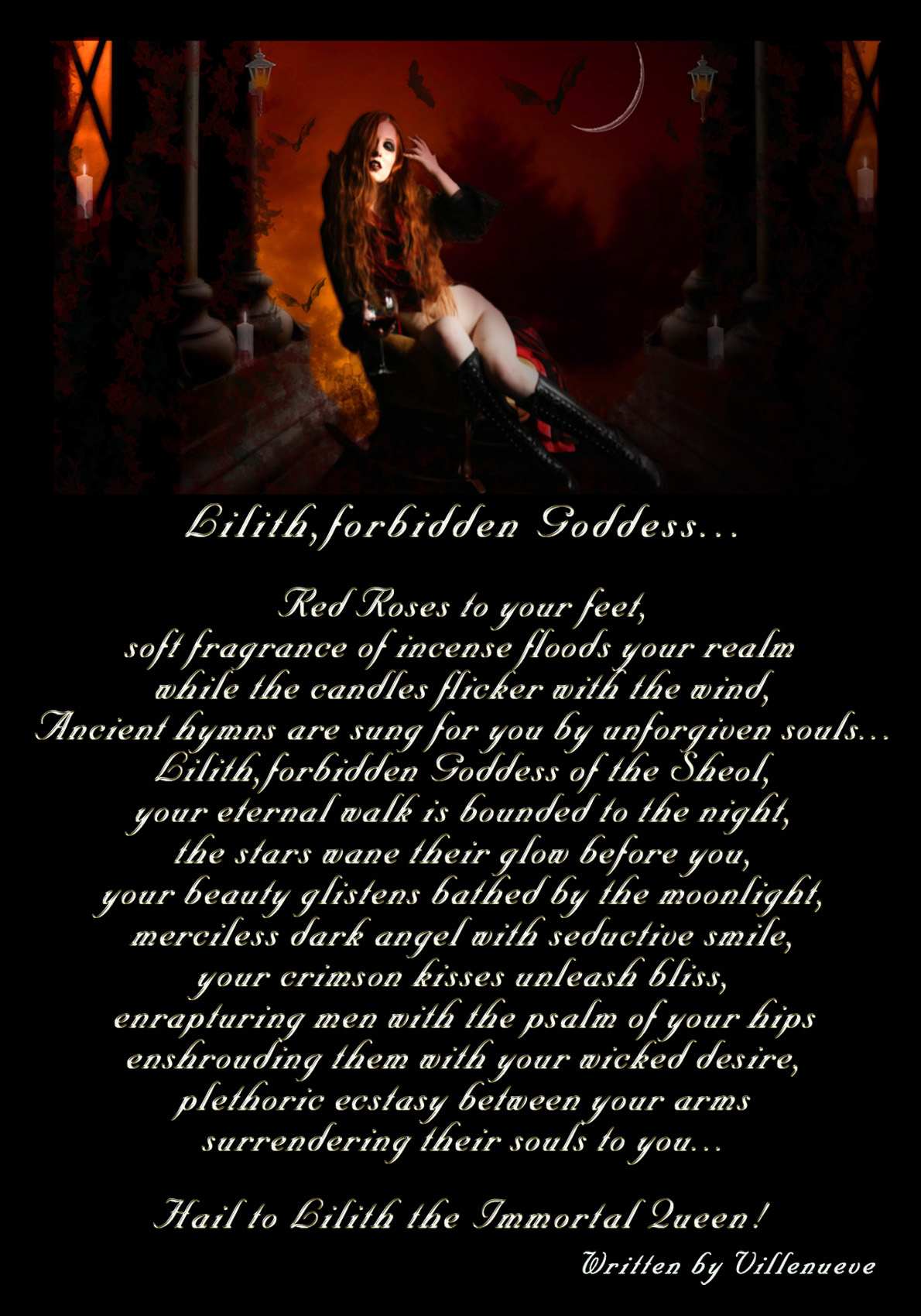 Lilith,forbidden Goddess-VP by Villenueve