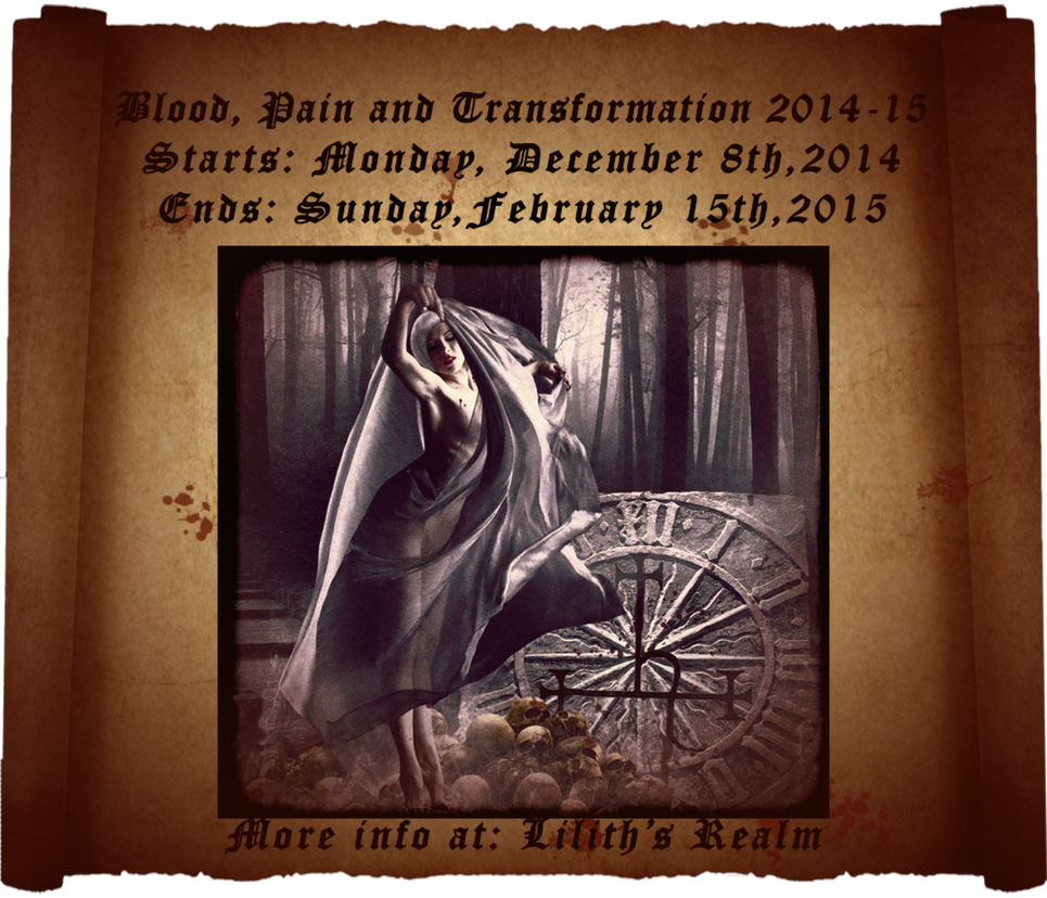 Blood,Pain and Transformation 2014-15 by Villenueve