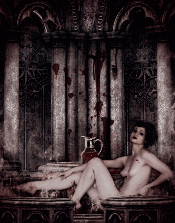 The Blood Queen's Bath... by Villenueve