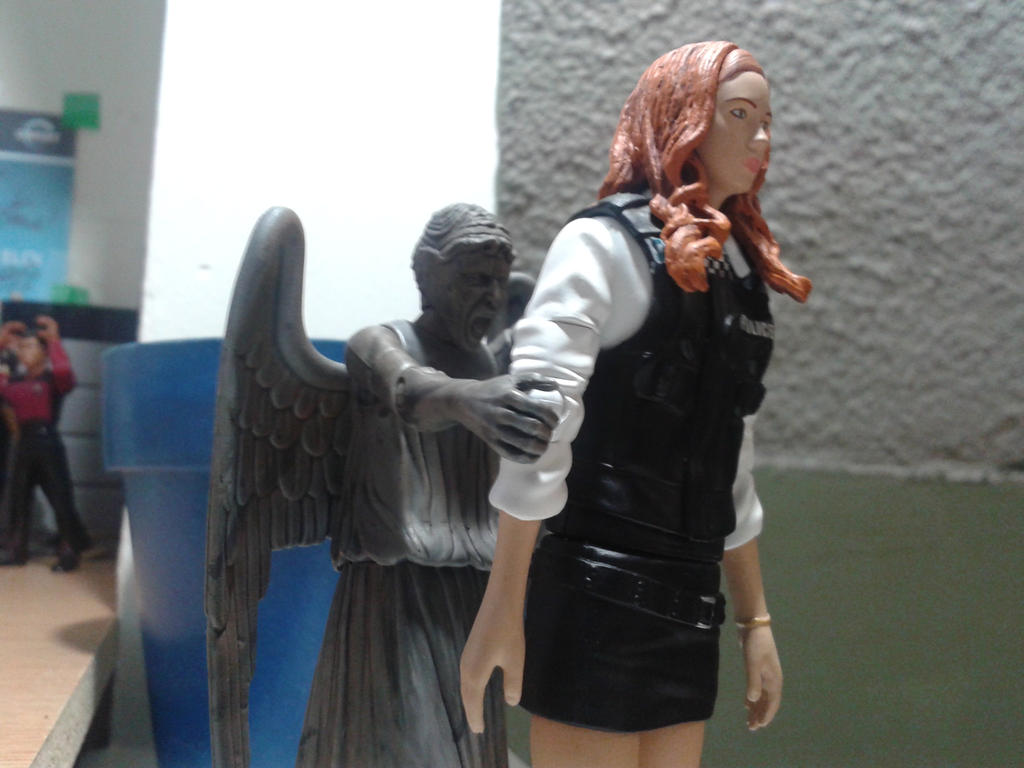 Attack of the weeping angel by TalekJames